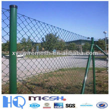 Valla de enlace de cadena usada para la venta / cerca galvanizada del acoplamiento de cadena para el camino / el jardín (fábrica)