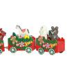 FQ marca familia tienda adorno decoración regalo madera juguete tren de navidad
