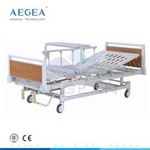 Holzrahmen Patientenhandkurbel zwei funktionieren Krankenhaus billiges medizinisches Bett