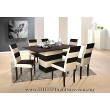 Set de salle à manger moderne, meubles de salle à manger, ensemble de salle à manger haut de gamme