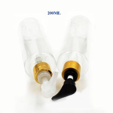 Botella plástica de la bomba del electrochapado 200ml para el perfume y la loción (NB20304)