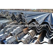 Galvanisation W Beam Steel Highway Guardrail Drawing