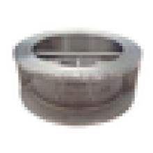Размер 4» DN100 PN25/класс 150 нержавеющей стали двойной диск пластин. Обратный клапан