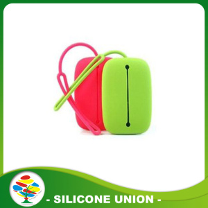 Colorful Silicone kunci tahan air bag / kantong / kasus