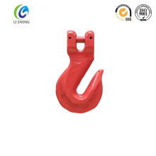 European type clevis grab hook