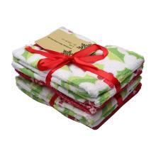 Сезонная чистая ткань из микрофибры с индивидуальной печатью в подарок