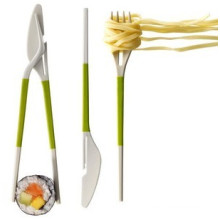 Three in One Chopstick (knife, fork and chopstick)