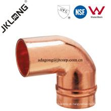 J9304 montagem de cobre de 90 graus Forged Copper Street Elbow