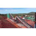 Planta de processamento de ouro de poupança de energia, extração de ouro de minério