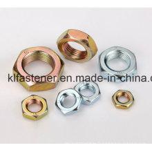 DIN439 Hex Thin Nut Fabricant avec haute qualité