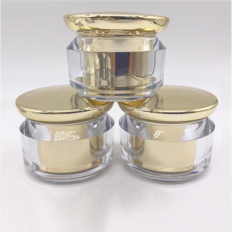 Double-layer Mushroom acrylic cosmetic Mirror Bottles
