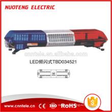 NUOTENG TBD031221 Barre lumineuse d'avertissement à led de police rouge et bleue