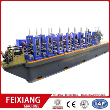High speed welded square steel pipe making machine