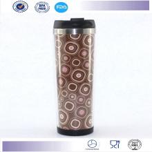 Venda quente Starbucks café caneca copo caneca com inserção de papel