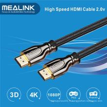Câble HDMI 2.0 avec plaqué or supporte Ethernet 2160p 18gbps, 3D 1.4 4k