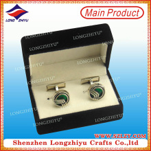 Quality Metal Manufacture Professional Brass Cufflinks with Cheap