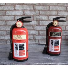 Custom Resin Extinguisher Shape Decorative Craft Saving Money Box Toy