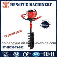 Perforadora de tierra profesional de 52cc con alta calidad