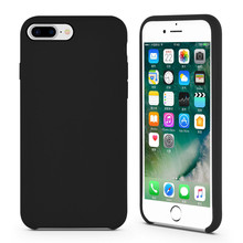 High-end flytande silikon gummi IPhone8-fodral