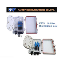 with Splitter 4 Cords Fiber Optic Terminal Box