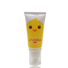 Tubo hidratante das crianças do bebê do tubo da bomba dos cuidados com a pele da extremidade 50g livre