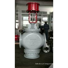 Válvula pneumática de controle de vazão tipo três vias de desvio (ZMAX)