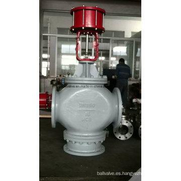 Tipo de desvío neumático Válvula de control de flujo de tres vías (ZMAX)
