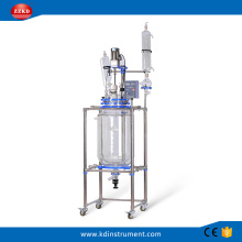 100L Big Lab Jacketed Glass Polymerization Reactor