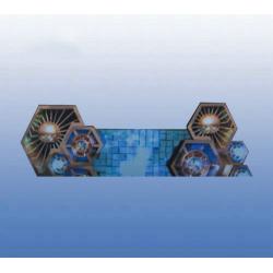P4.8 Hexagon LED DJ Console Display