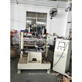 4 axis CNC coil of wire brush 2 drilling and 1 tufting machine