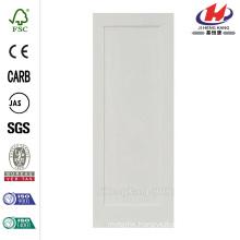 28 in. x 96 in. Shaker 1-Panel Primed Solid Core MDF Interior Door Slab