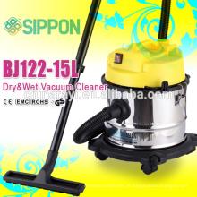 Aspirador molhado e seco com filtro hepa e função de sopro