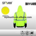 Como / nzs clase d / n sudadera con capucha reflectante de workwear sudadera con capucha alta visibilidad workwear ropa de seguridad 100% poliéster polar