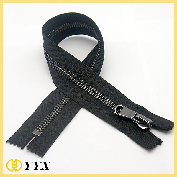 MDPC Custom Puller Dark Nickel Metal Zipper