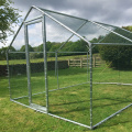 Extended Chicken Run Large Poultry Cage