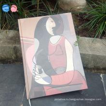 Art Paper Cover Планировщик путешествий Руководство для ноутбуков Новая ретро классика