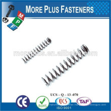 Made IN TAIWAN high qualiy small spring compression spring stainless steel spring