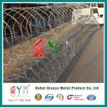 Pyramid Type Razor Wire Barrier