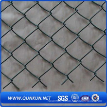 PVC and Hot Dipped Chain Link Fence for Garden Using