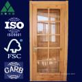 9/10/15 Lite French Alder Solid Wood Door