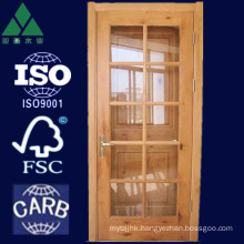 9/10/15 Lite French Alder Solid Wood Door