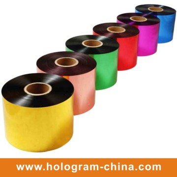 Colourful Tamper Evident Hologram Film