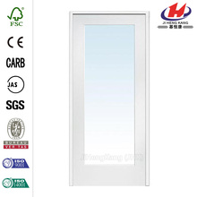 Insulated HDF Wood Frame Single Interior Sliding Door