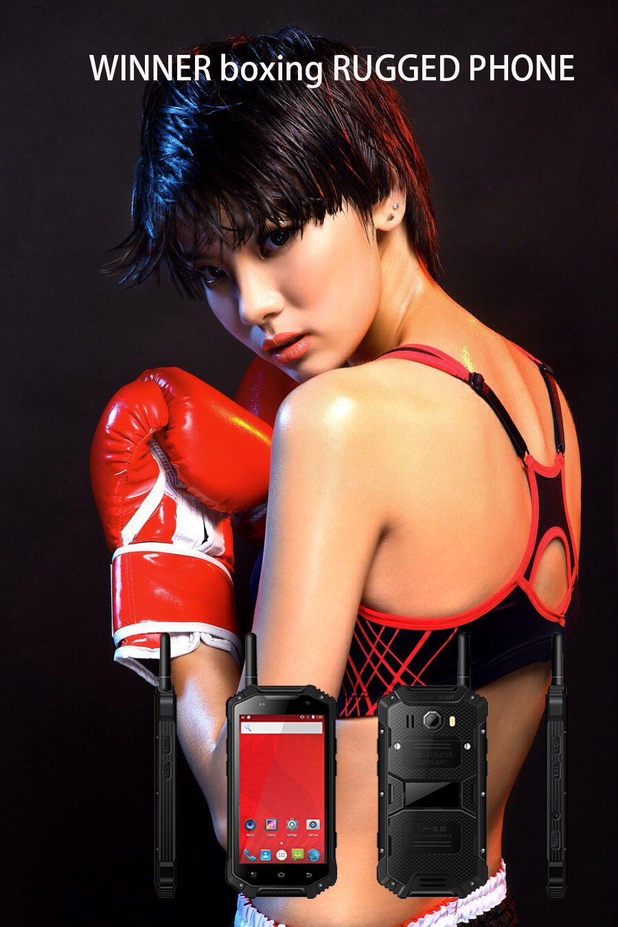 winner boxing rugged phone