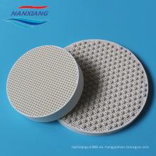 placa de cerámica infrarroja del panal para el quemador del horno de gas