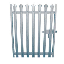 Factory direct Decorative Steel palisade fence