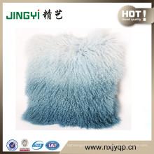 Wholesale Tibetan Mongolian Lamb Fur Cushion Cover Many Colors