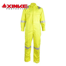 En471 Two Tones Color Safety Clothing With Reflective Tapes For Offshore Worker