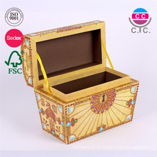custom new style perrty hande made paper gift box designs