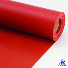 Alfombra de goma roja SBR Rubber Sheet Roll Mat